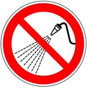 1435. Met water spuiten verboden D-P017 - SYMBOL
