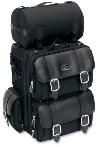 saddlemen Sissy Bar Bag Expandable textil Black – 3515-...