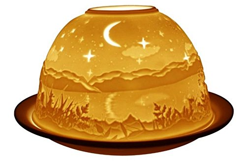 Welink Light-Glow Tealight Candle Holder, Starry Night