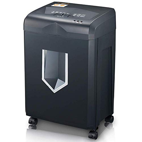 Great Deal! CHUXJ 5-Sheet High Security Micro Cut Paper Credit Card Shredder with Waste Bin Shredder