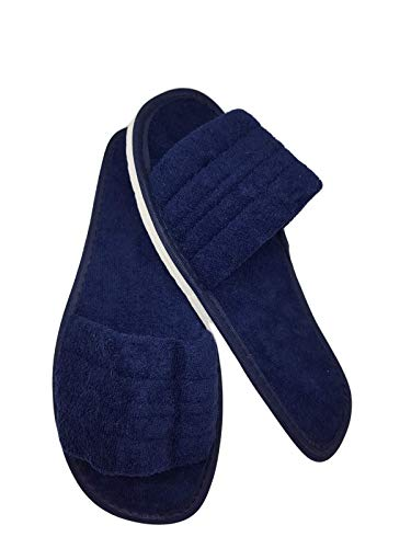 Zapatilla Tira Ruso Azul (Azul Marino, Numeric_45)