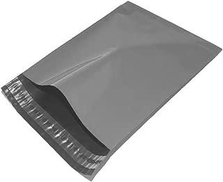 Sac postal en plastique avec fermeture autocollante En poly/éthyl/ène  12x16 gris 30,5/x 40,6/cm Gris