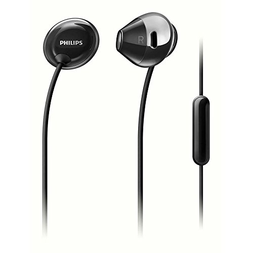 Philips SHE4205BK Flite In-Earヘッドフォン(マイク付) SHE4205 Black [並行輸入品]
