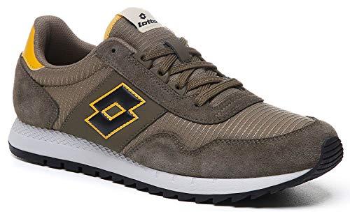 Lotto Runner Herren Sneaker Low Grün, Größenauswahl:45