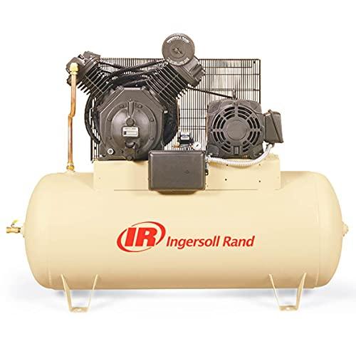model air compressors Ingersoll Rand Type-30 Reciprocating Air Compressor - 15 HP, 230 Volt 3 Phase, Model Number 7100E15-V