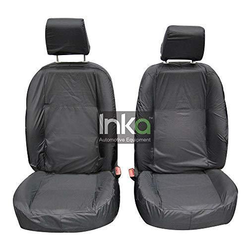 INKA Fundas de asiento de 3ª fila totalmente a medida, impermeables, color gris – para Land Rover