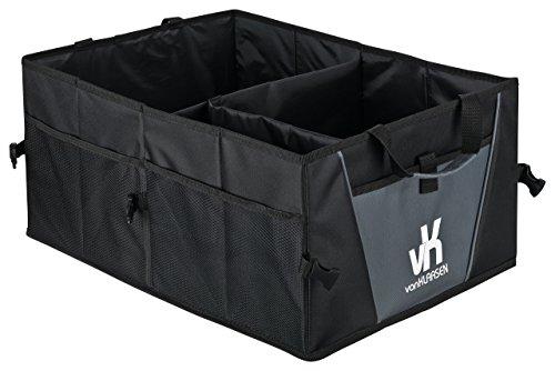 Van Klaasen – Premium Kofferraumtasche – Extra Stabil mit viel Staumöglichkeit
