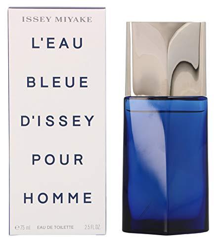 Issey Miyake, L'Eau Bleue, Eau de Toilette da uomo con vaporizzatore, 75 ml