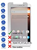 Todotumovil Protector de Pantalla Alcatel A3 XL de Cristal Templado Vidrio 9H para movil