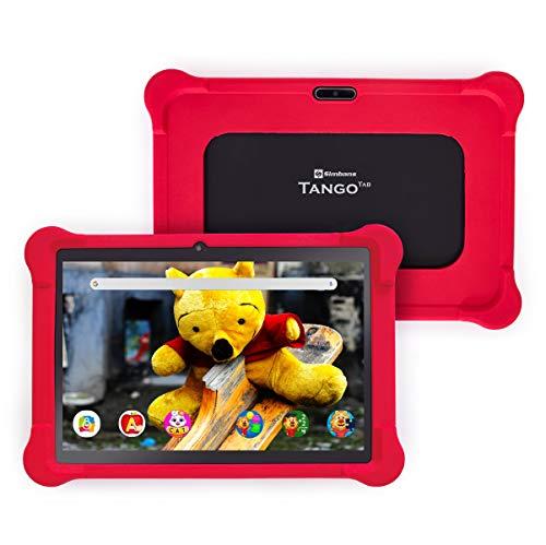 [4 Bonusgegenstand] Simbans TangoTab 10 Zoll Kinder Tablet, 4 GB RAM, 64 GB Festplatte, Android 10, GPS, WiFi, USB, HDMI, Bluetooth, IPS-Bildschirm, Quad-Core-CPU Computer PC - TX4K