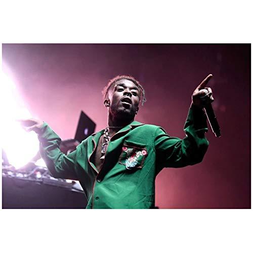 wzgsffs Lil Uzi Vert Hip Hop Star Póster E Impresiones Arte De La Pared Impresión En Lienzo para La Sala De Estar Dormitorio En Casa Café Decorativo -24X32 Pulgadas X 1 Sin Marco
