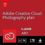 Adobe Creative Cloud Foto-Abo mit 1TB: Photoshop und Lightroom | 1 Jahreslizenz | PC/Mac Online Code & Download