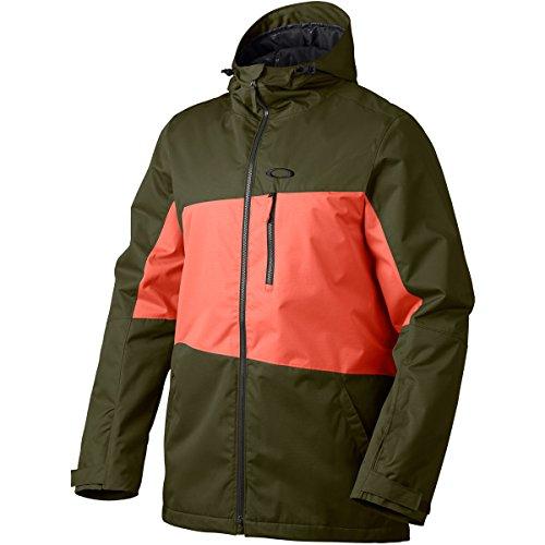 Oakley Herren Jacke Easy Street Biozone Insulated Jacket, Herb, L