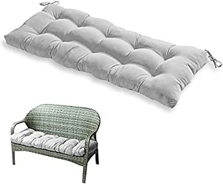Garden Bench Seat Folding Cushion Padded Seat Cover Outdoor