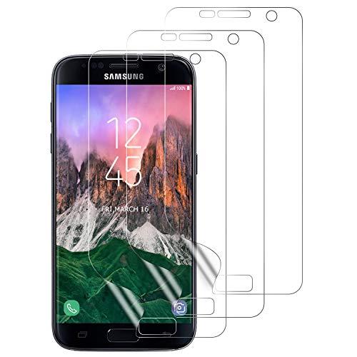 Aspiree 3 Stück Schutzfolie für Samsung Galaxy S7, [Ultra HD] Weich TPU Folie für Samsung Galaxy S7 (Nicht Panzerglas), Displayschutz Folie für Galaxy S7