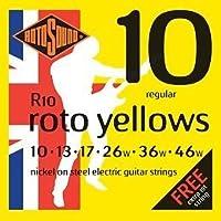 【6セット】ROTOSOUND/ロトサウンド ROT-R10 [10-46] エレキギター弦