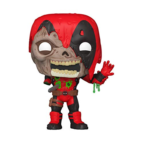 Funko- Pop Marvel Zombies-Deadpool Figura Coleccionable, Multicolor (49126)