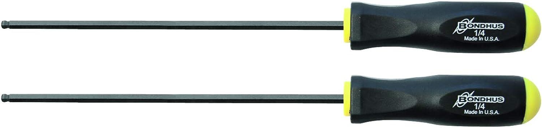 Bondhus 10712 1 10,2 cm Ball End-Schraubendreher mit Proguard Finish, Finish, Finish, 22,6 cm 2-teilig B001AMSSWY   Hohe Qualität Und Geringen Overhead  ba8068