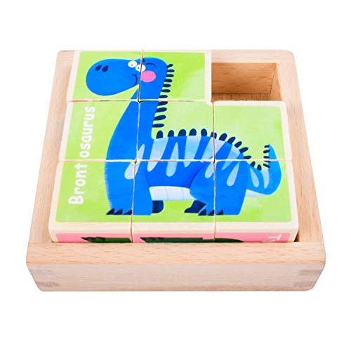 Puzzles de Madera for Kids ,Animales Rompecabezas ,Juguetes Bebes, Jigsaw Wooden Puzzles Toy, Juguetes Montessori Puzzles,Juguetes niños 1 año 2 3 4 5 6 años , Best Birthday&Navidad Present