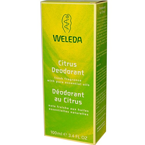 Weleda Citrus deodorant - 100ml - PACK OF 10
