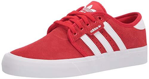 adidas Originals Men's Seeley XT Sneaker, Vivid Red/White/Gum4, 7
