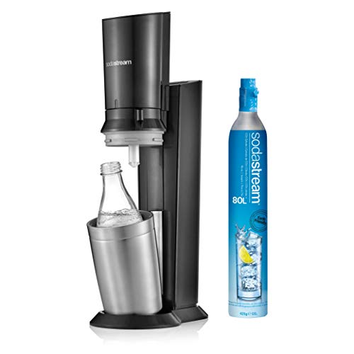 SodaStream Crystal 2.0, avec bouteille en verre allant au lave-vaisselle pour votre eau gazéifiée...