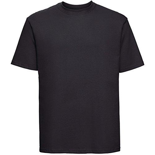 Klassisches T-Shirt, Farbe:Black;Größe:XL XL,Black