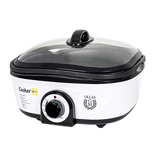 Cecotec Olla de Cocción Lenta Cooker 8 en 1. Calentar, Hervir, Cocción...
