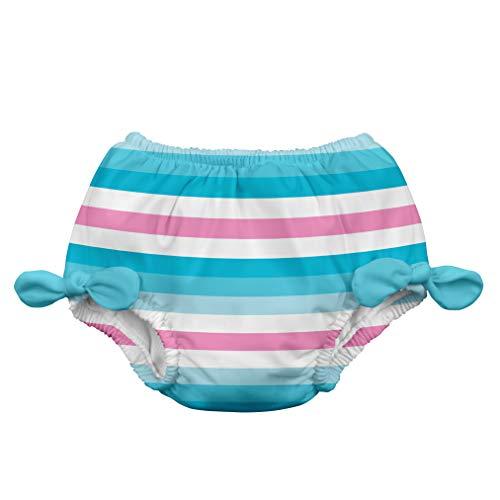 i play. 711183-634-43 Schwimmwindel 6-12 Monate, Stripe, aqua