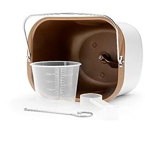 Gastroback 42823 Design Brotbackautomat Advanced, Edelstahl Brotbackmaschine 18 Programme, automatisches Zutatenfach, für 500g, 750g und 1.000g Brotlaibe, Sichtfenster, Timer, 18/8, silber