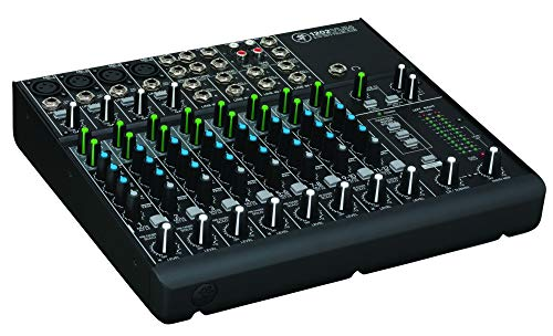 Mackie 1202VLZ4 12channels 20 - 20000Hz - Audio-Mixer (12 Kanäle, 20 - 20000 Hz, 90 dB, 10000 Ohm, 2500 Ohm, 25 W)