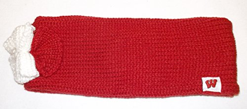 adidas Wisconsin Badgers Knit Ear Band Headband - OSFA - H330W