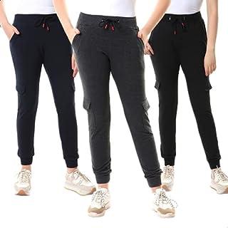 Andora Cotton Drawstring Elastic Waist Sweatpants Set for Women