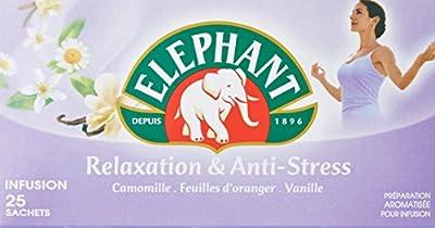 Elephant Infusion Relaxation Et Anti Stress 25 Sachets 39g parent