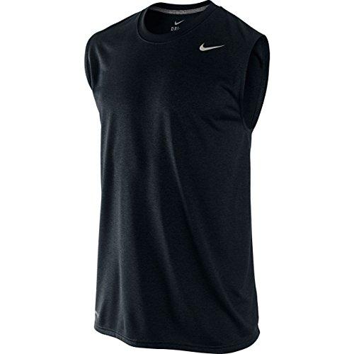 Nike Mens Dri-FIT™ Legend Sleeveless Training Shirt Black MD