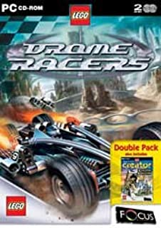 LEGO Drome Racers: Creator Knights Kingdom Double Pack (PC CD) [Windows 98]