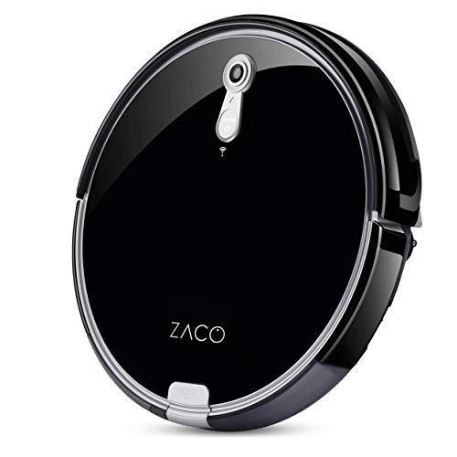 ZACO A8s Saugroboter mit Wischfunktion, App & Alexa Steuerung, 7,2cm flach, automatischer Staubsauger Roboter, 2in1 Wischen oder Staubsaugen, für Hartböden, Fallschutz, mit Ladestation - 13