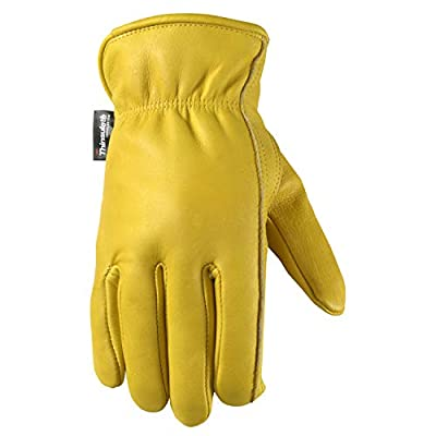 Wells Lamont Work Gloves with Keystone Thumb and Double Shirred Wrist