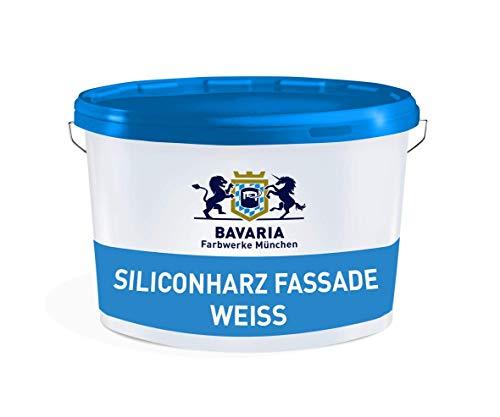 Fassadenfarbe Weiss Bavaria Farbwerke München Siliconharz Fassade Wetterschutz weiß