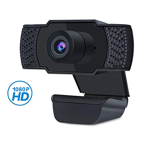 PANAMALAR Webcam, 1080P USB PC Streaming Webcam mit Mikrofon Plug&Play für Live-Streaming,Videoanrufe,Lernen,Gaming unterstützt Konferenzen für youtub,Facebook,skype, Xbox geeignet für PC/Laptop usw