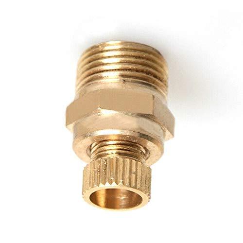 1 válvula de desagüe, 1/4 pulgadas, para compresores de tornillo e ideal para el vaciado.
