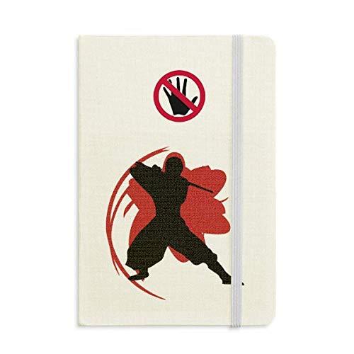 Bushido Samurai Katana Sakura Silhouette Japan Secret Notebook Classic Journal Diary A5