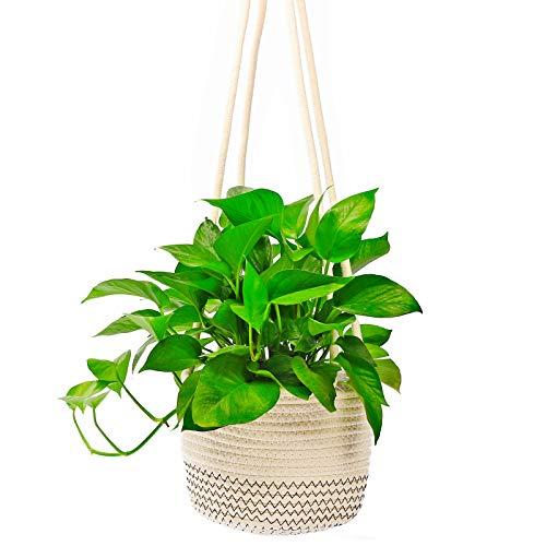 Sfee Hanging Rope Planter Basket...