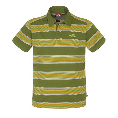 The North Face Herren Poloshirt Hike, Scallion Green Plaid, M