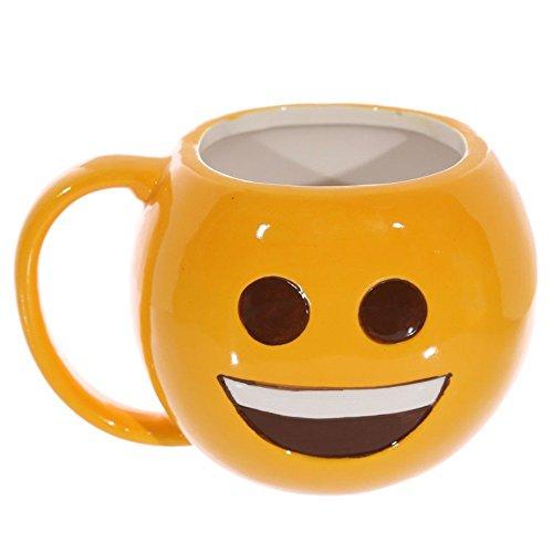 Taza de Emoji sonrisa jajaja