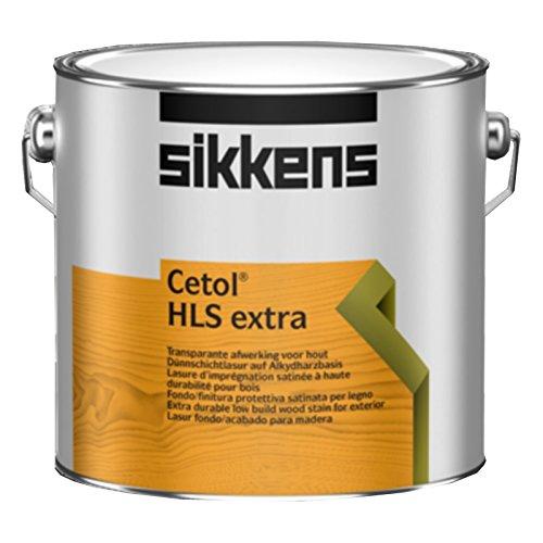 Sikkens 30954 Cetol Hls Extra Rm - Lackierschutzlack für Holz, Eiche Hell 006, 1 Liter