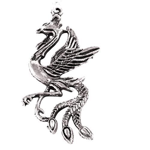 Large Phoenix Necklace 1617