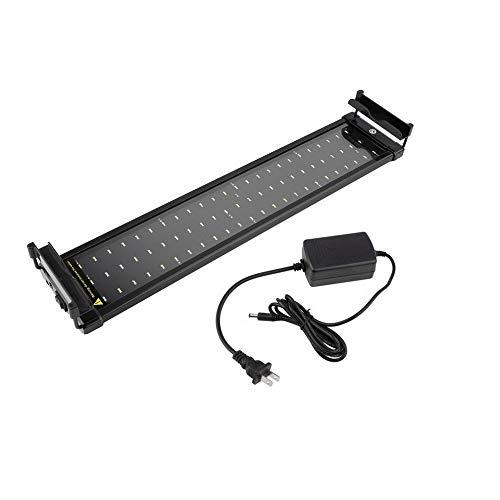 Acuario LED Tanque de Peces Luz de pecera Barra de luz LED Impermeable Barra Sumergible Sumergible SMD 11W 50 CM Las Plantas de luz LED para acuarios Crecen Iluminación de Color Blanco/azu