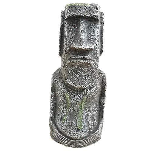 YAOHEHUA Guaridas Piedras hábitats Reptiles y Anfibios Accesorios para acuarios Decoraciones de peceras artesanías de Resina de Estatua de Piedra