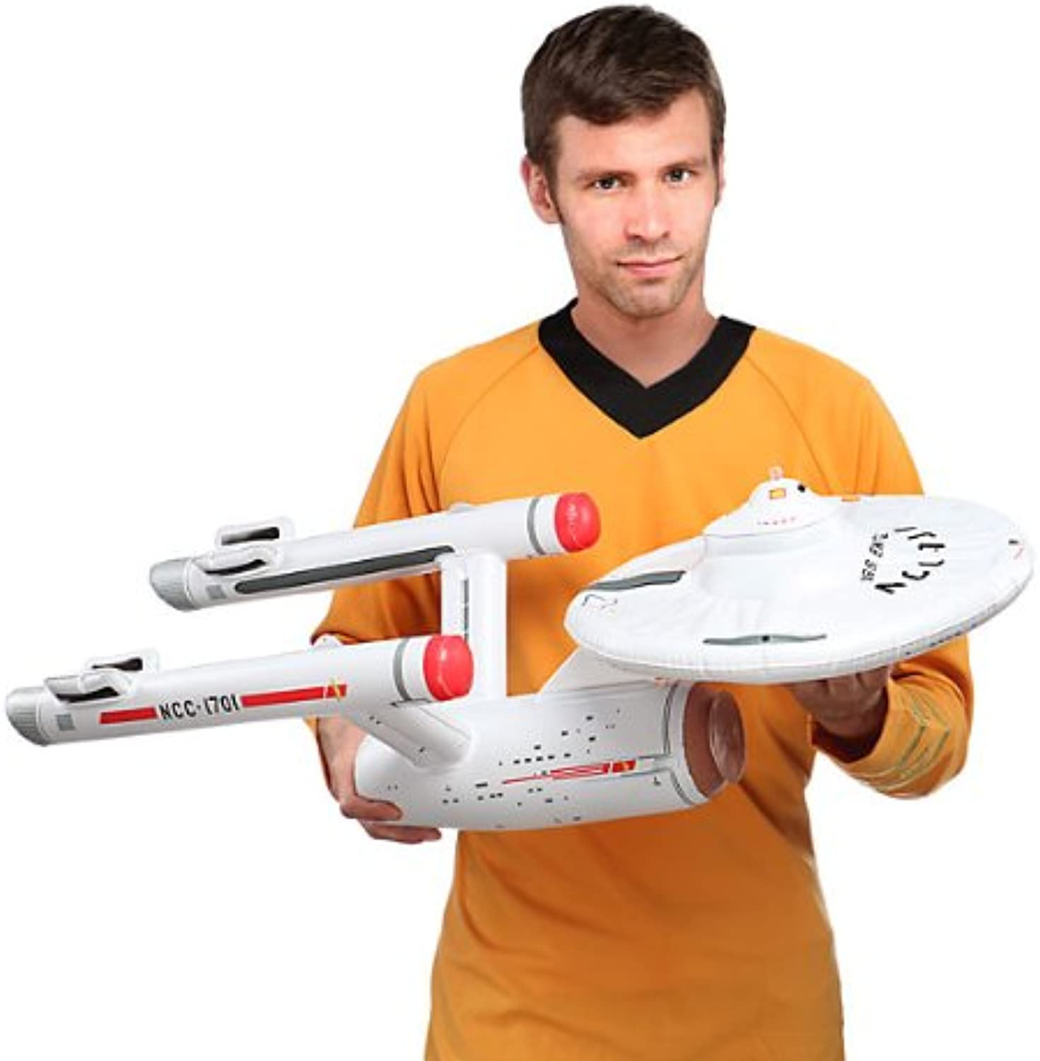 Star Trek USS Enterprise Inflatable Collectible - Expands to 3 Feet